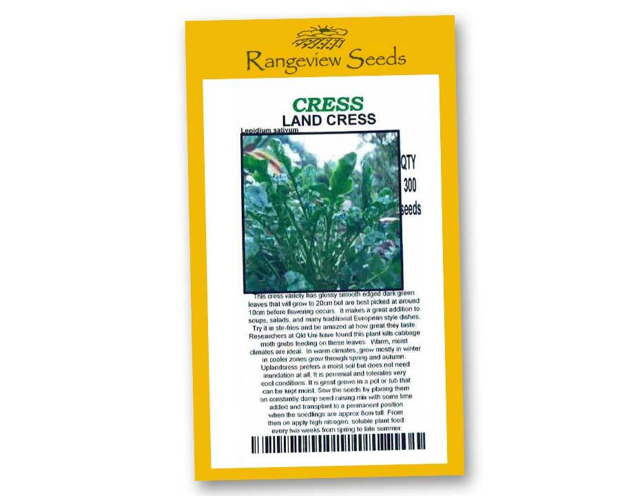 Landcress - Rangeview Seeds
