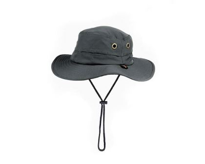 Boonie Hat available in two colours - this is Charcoal