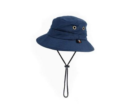 Bucket Hat comes in three colours - this is Navy