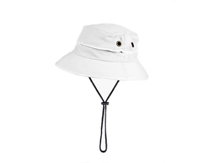 Bucket Hat comes in three colours - this is White