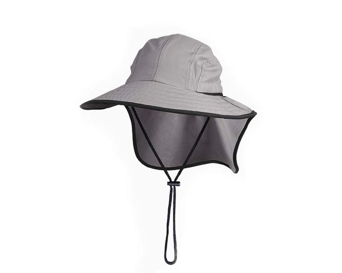 Flat Cap Hat comes in two colours - this is Silver