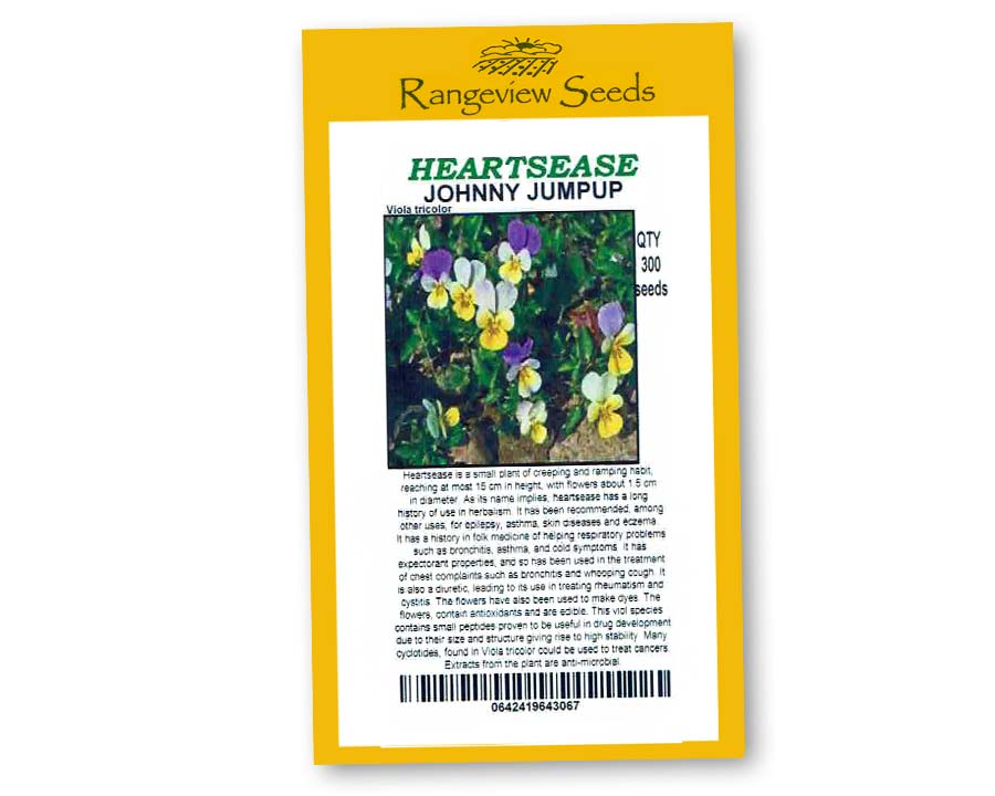 Hearstease Johnny Jumpup - Rangeview Seeds