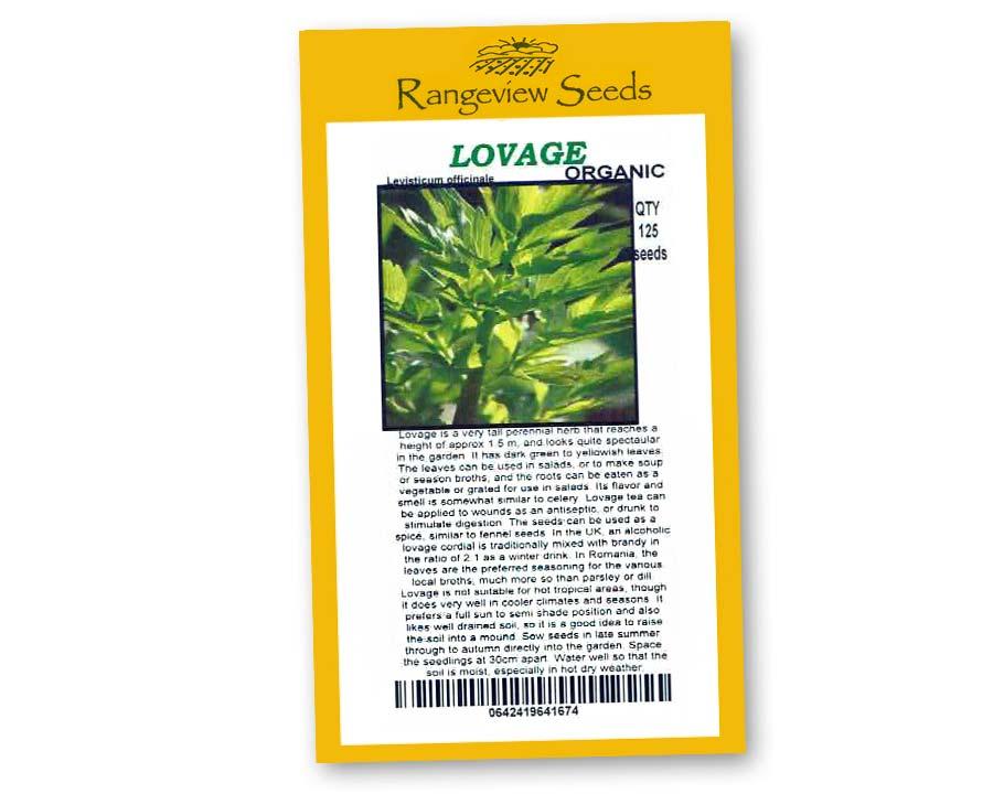 Lovage - Rangeview Seeds