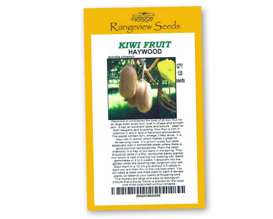 Kiwi Fruit Haywood - Rangeview Seeds