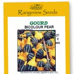 Gourd Bicolour Pear - Rangeview Seeds