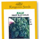 Kale Dwarf Blue Curled - Rangeview Seeds