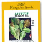 Lettuce Cosleaf Mix - Rangeview Seeds
