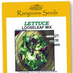 Lettuce Looseleaf Mix - Rangeview Seeds