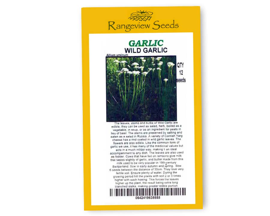 Wild Garlic - Rangeview Seeds