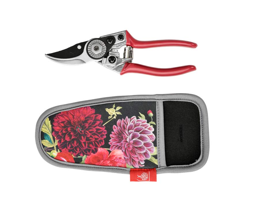 Pruner and holster set in new RHS floral design British Bloom