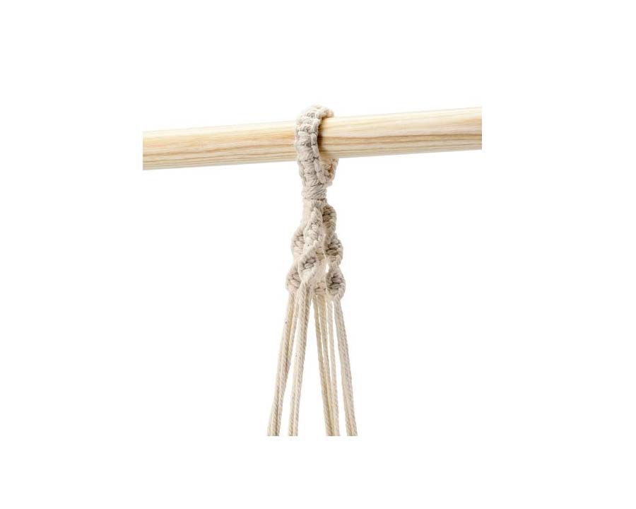 Macrame hanger from Burgon and Ball
