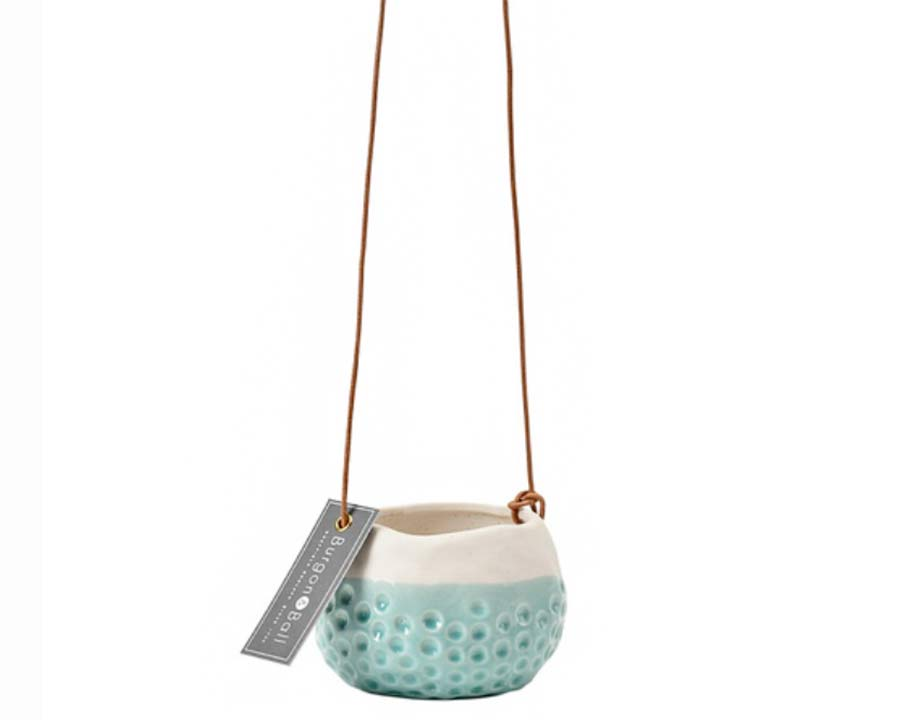 Hanging Pot - Baby Dotty - perfect for small succulents