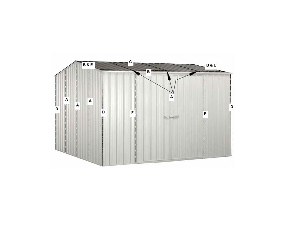 Cyclone Kit Upgrade - Absco Sheds