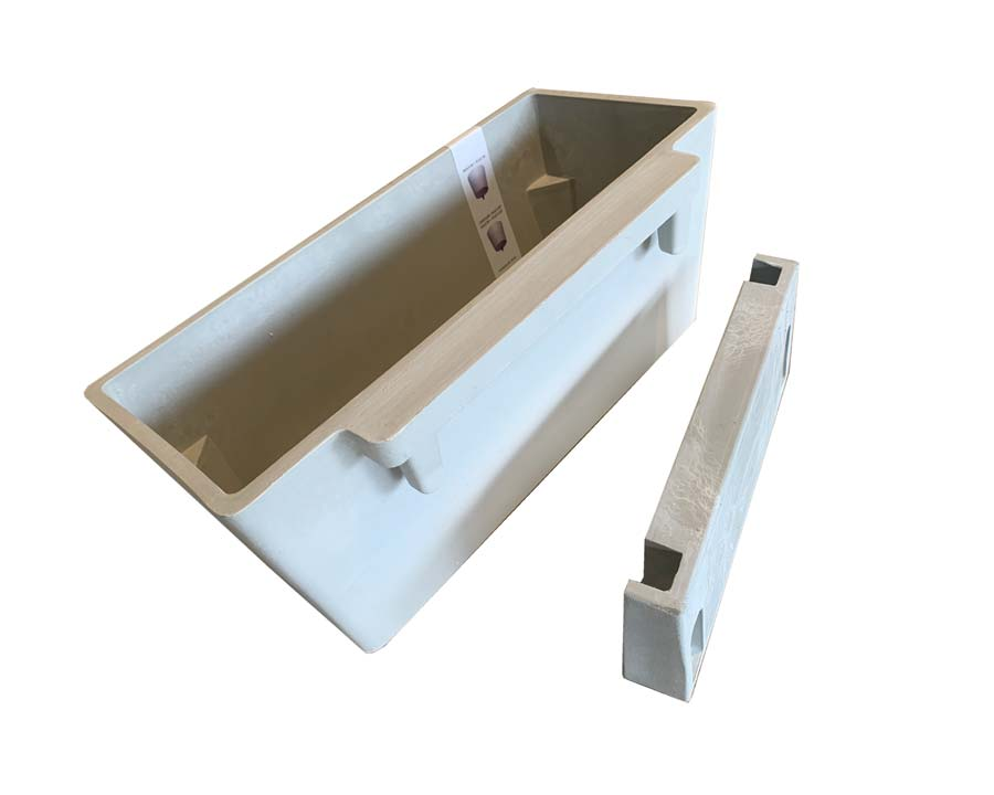 Eco-Pot 35 wall mounting plate