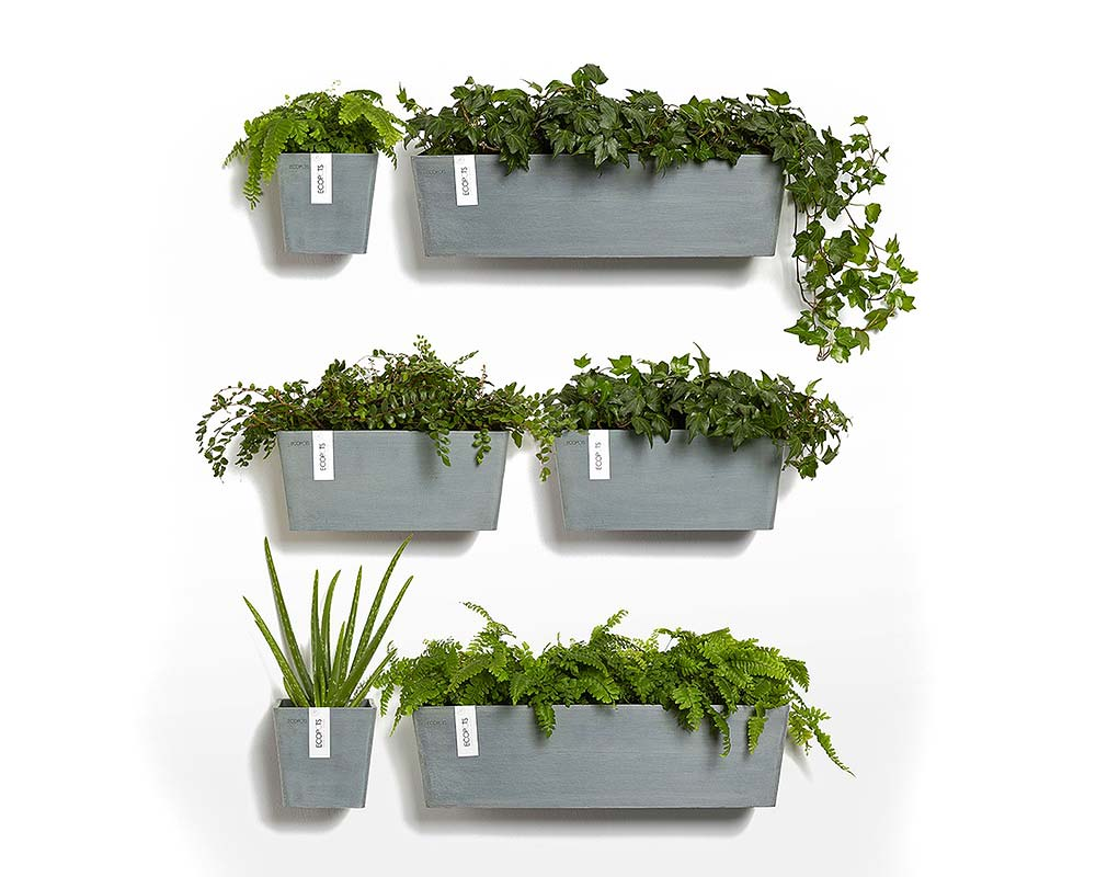 Combination of Sizes - Manhattan Wall-Mounted - EcoPots