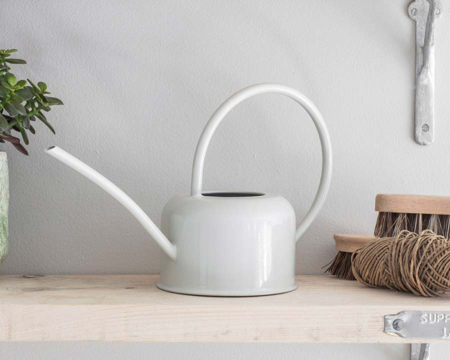Indoor watering can 1.1 litre capacity - Chalk colour finish
