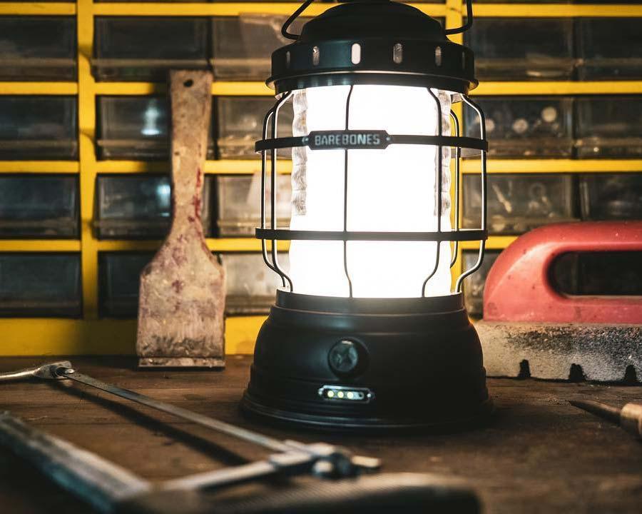 Forest LED lantern