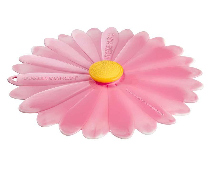 Medium-Small Daisy Lid 20cm in Pink - Charles Viancin