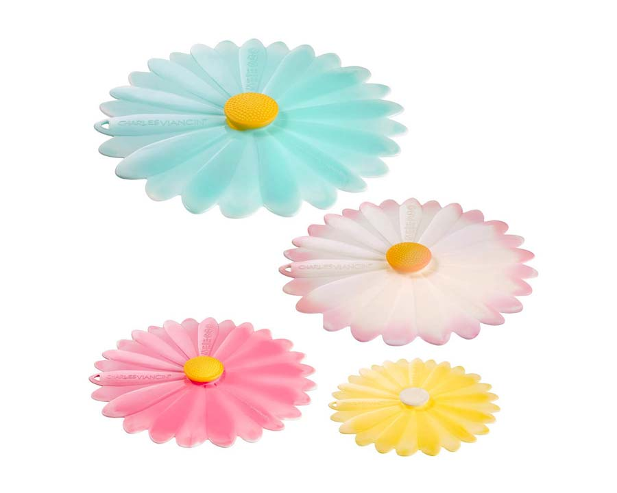 Latest designs from Charles Viancin - Daisy Lids