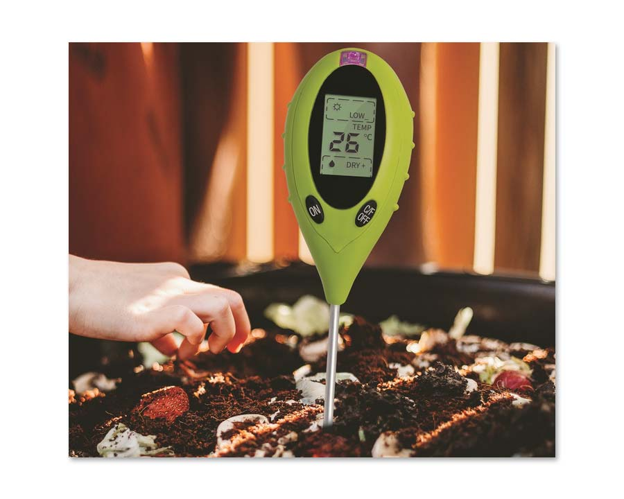 Tumbleweed - pH Tester designed to monitor pH of both Compost and Worm Farms