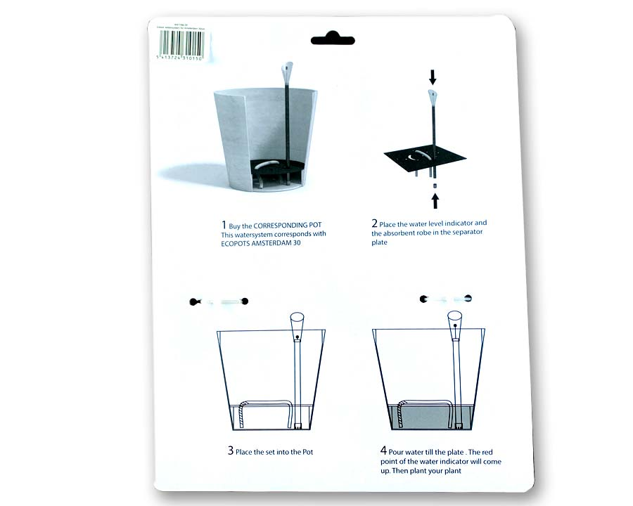 In-Pot watering system - EcoPots