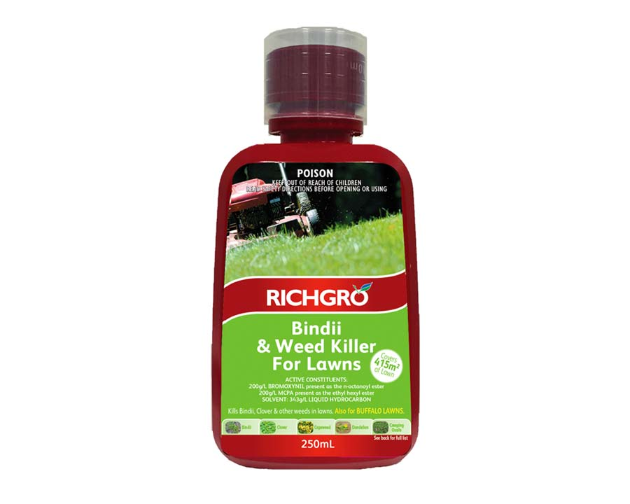 Bindii and Weedkiller for Lawns - Richgro