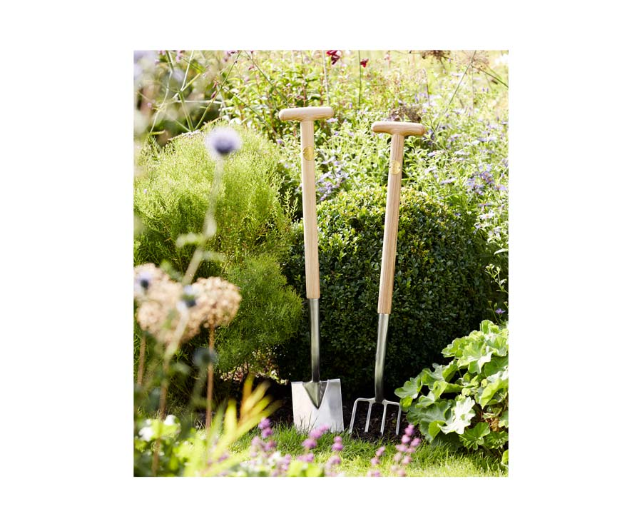 Digging Fork and Spade - part of new range of quality garden tools by Sophie Conran