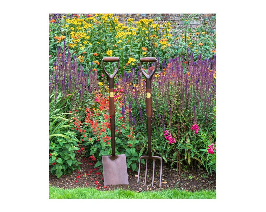 Garden Spade and fork - National Trust range of tools by Burgon and Ball
