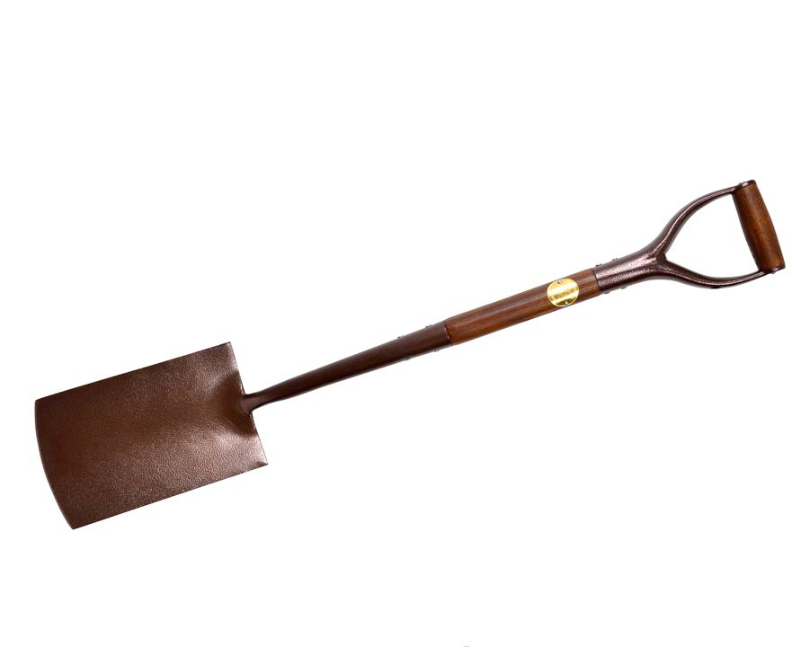 Garden Spade - part of the new National Trust range of garden tools by Burgon and Ball