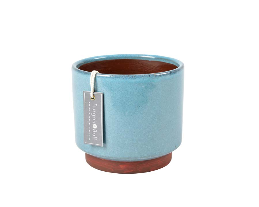 Malibu Large Pot in Blue by Burgon and Ball