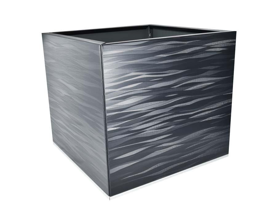 Birdies CBD Flat-Pack Pot - Square 0.45 x 0.45 x 0.4m - in Spectrum finish