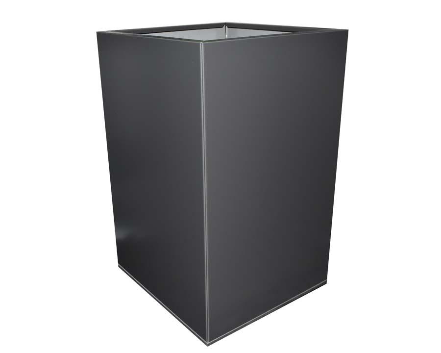 CBD Flat-Pack Pot, Square, Tall  - Monolith 45 x 45 x 70cms
