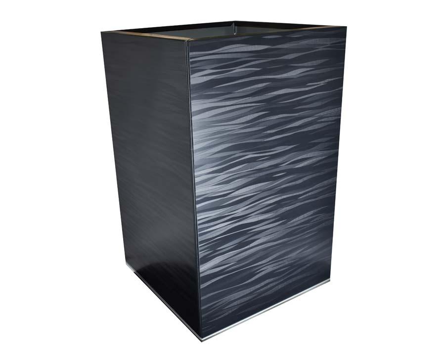 CBD Flat-Pack Pot, Square, Tall  - Spectrum 45 x 45 x 70cms
