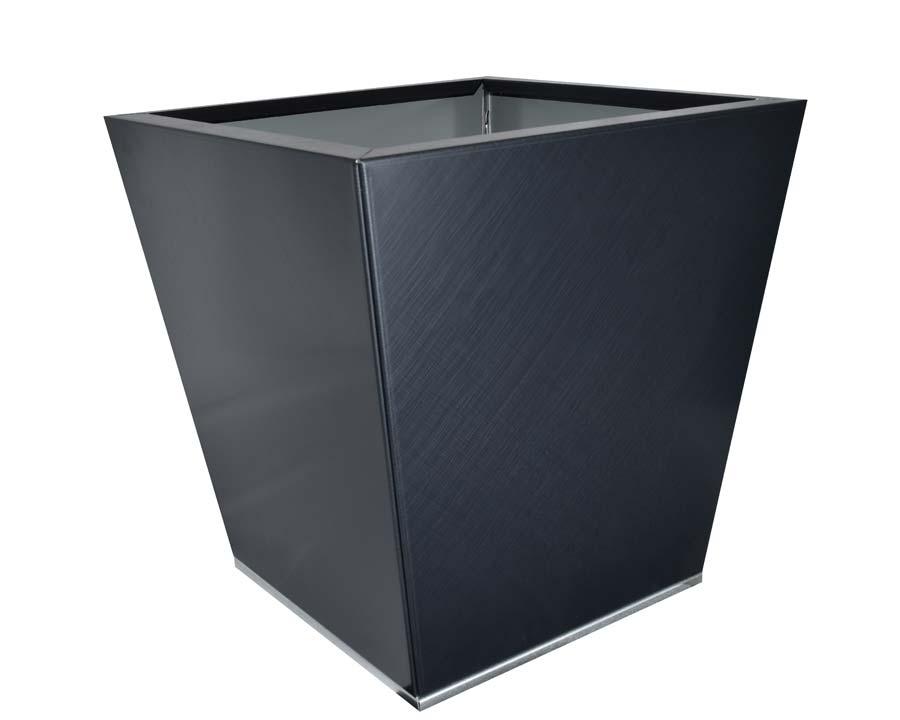Birdies CBD Flat-Pack pot Tapered 40 x 40 x 40cms - Saffiano finish