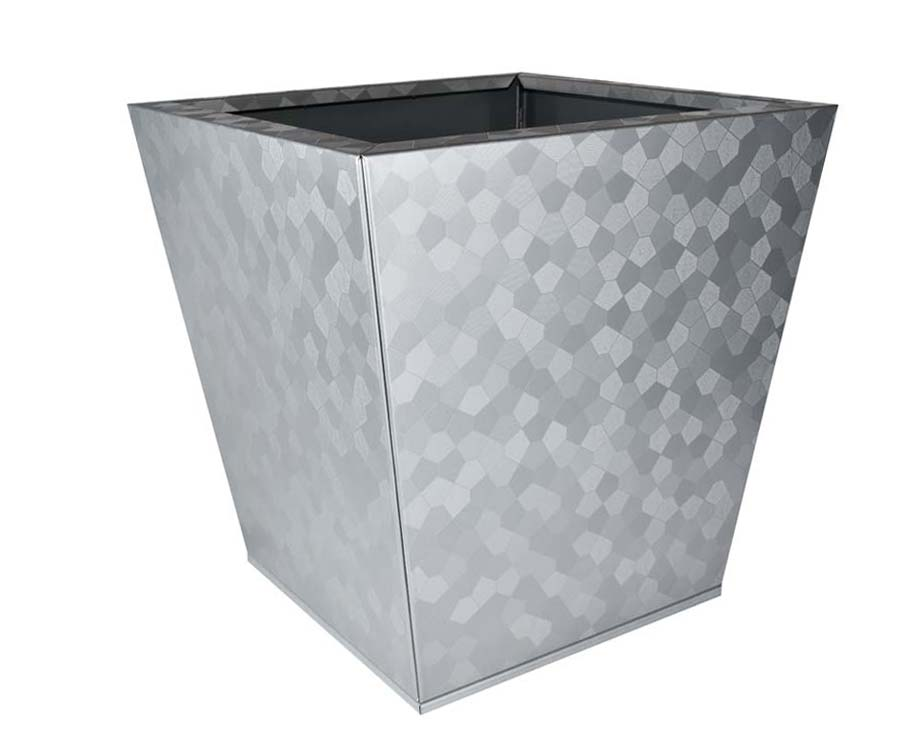Birdies Flat-Pack pot Tapered 40 x 40 x 40cms - Pentagon finish