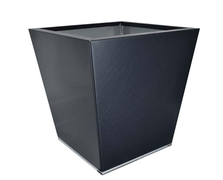Birdies Flat-Pack pot Tapered 40 x 40 x 40cms - Saffiano finish
