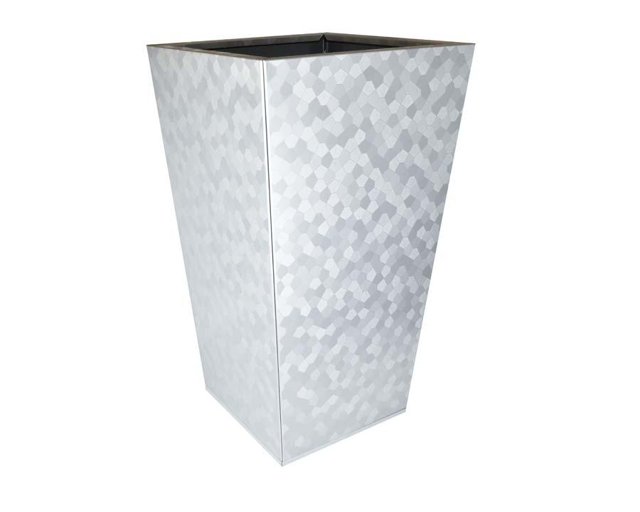 Birdies Flat-Pack Pots, Tall Tapered 40 x 40 x 70cms Pentagon finish