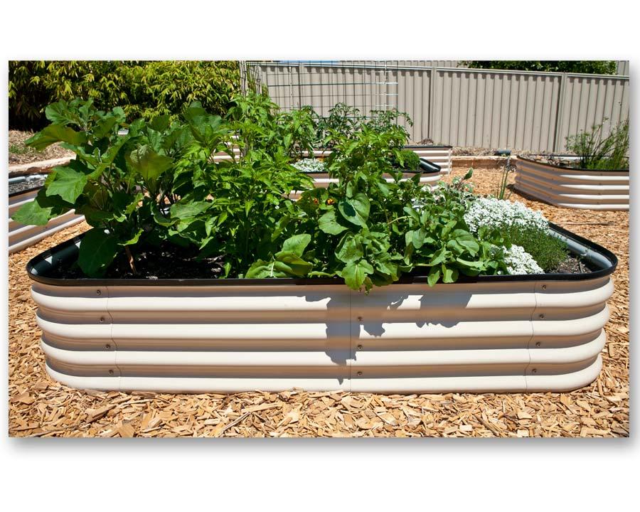 Birdies Original Raised Garden Bed - Merino finish