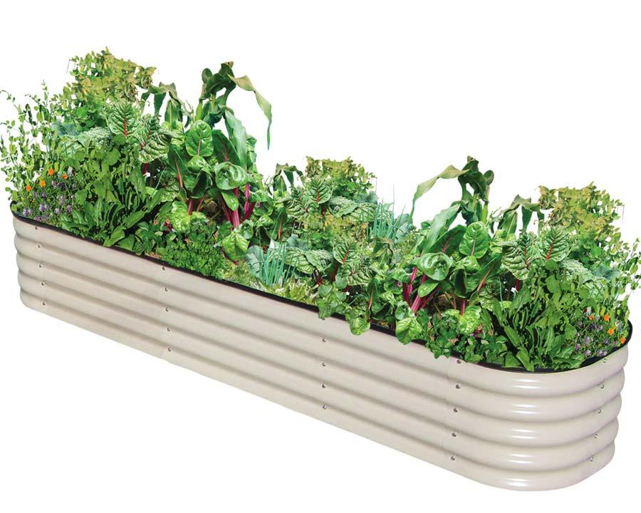 Birdies Original Raised Garden Bed - Merino finish, 340mm tall