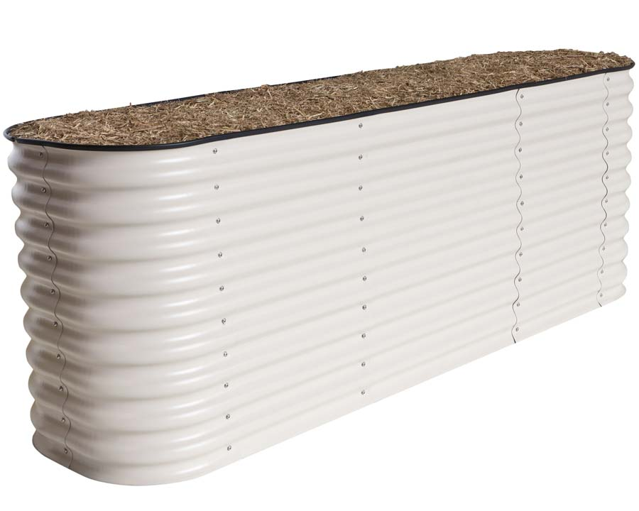Birdies Original Raised Garden Bed in Merino finish - 740mm high