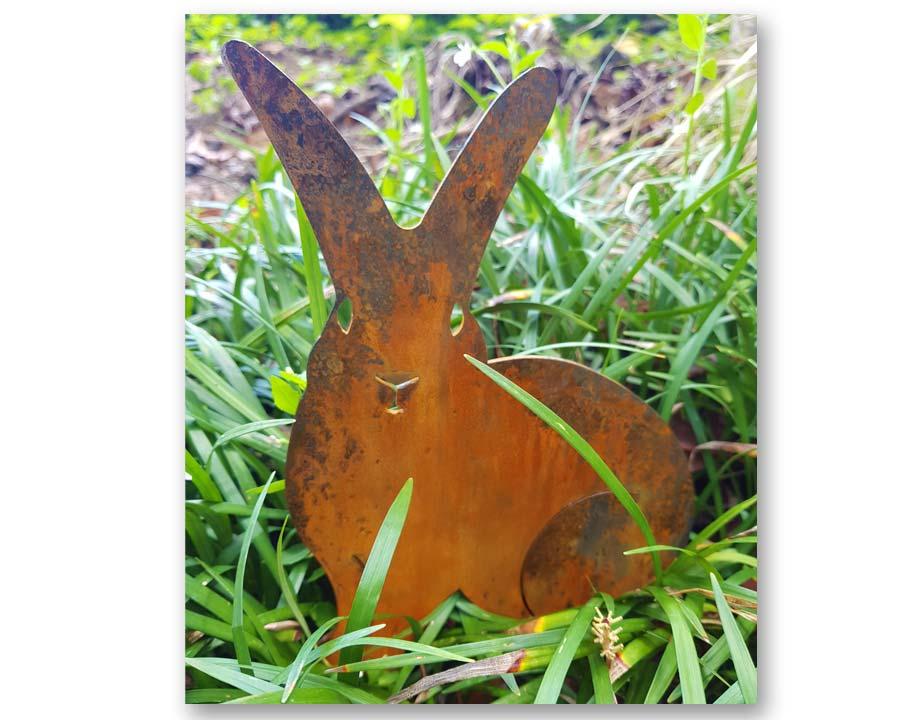 Rabbit - decorative garden art