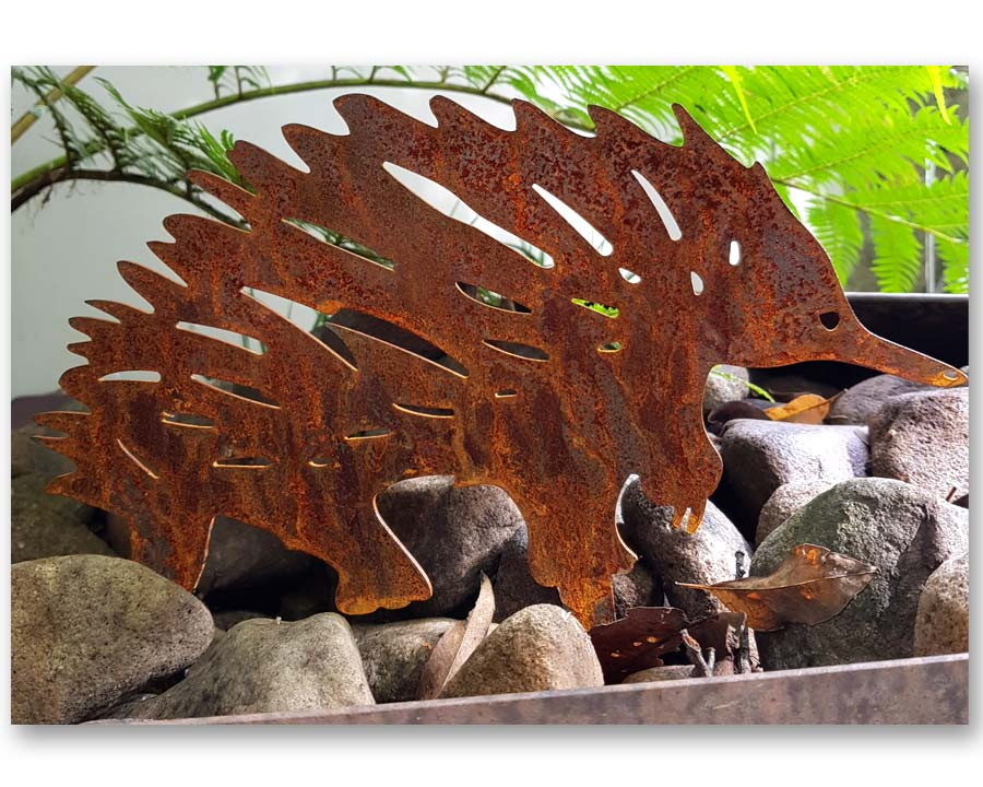 Echidna - decorative garden art