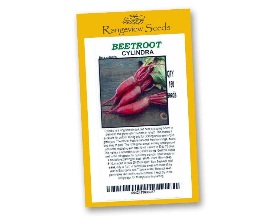 Beetroot Cylindra - Rangeview Seeds