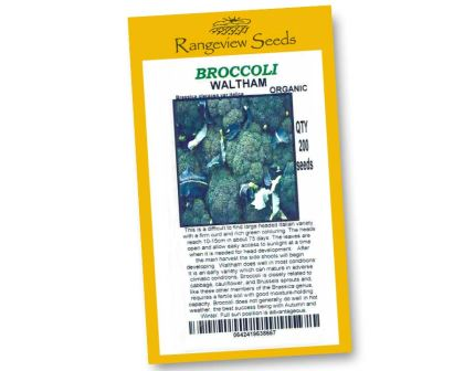 Broccoli Waltham - Rangeview Seeds