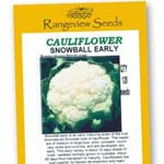 Cauliflower Snowball Early - Rangeview Seeds