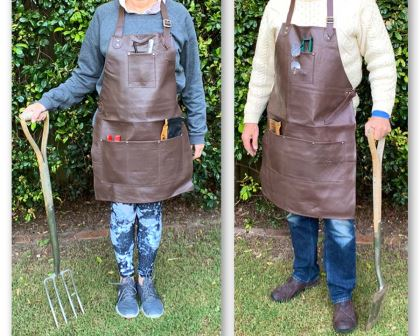 Leather Gardeners Apron