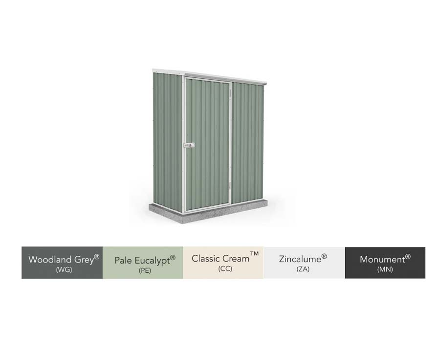 Space Saver Storage Unit 15081SK - available in five finishes - Woodland Grey, Pale Eucalypt, Classic Cream, Zincalume and Monument