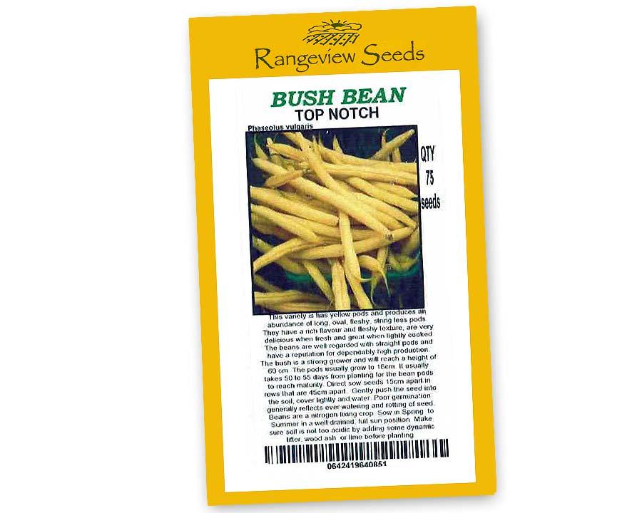 Bush Beans - Top Notch - Rangeview Seeds