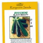 Zucchini Black Beauty - Rangeview Seeds