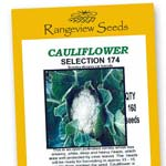 Cauliflower Selection 174 - Rangeview Seeds